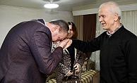 Başkan Işık'tan sürpriz ziyaretler