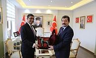 Hindistan'ın Ankara Büyükelçisinden ziyaret