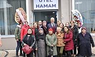 Karabiga'da Türk Hamamı açıldı