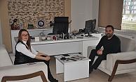 Karadağ'dan Hedef Gazetesi'ne 10 Ocak ziyareti