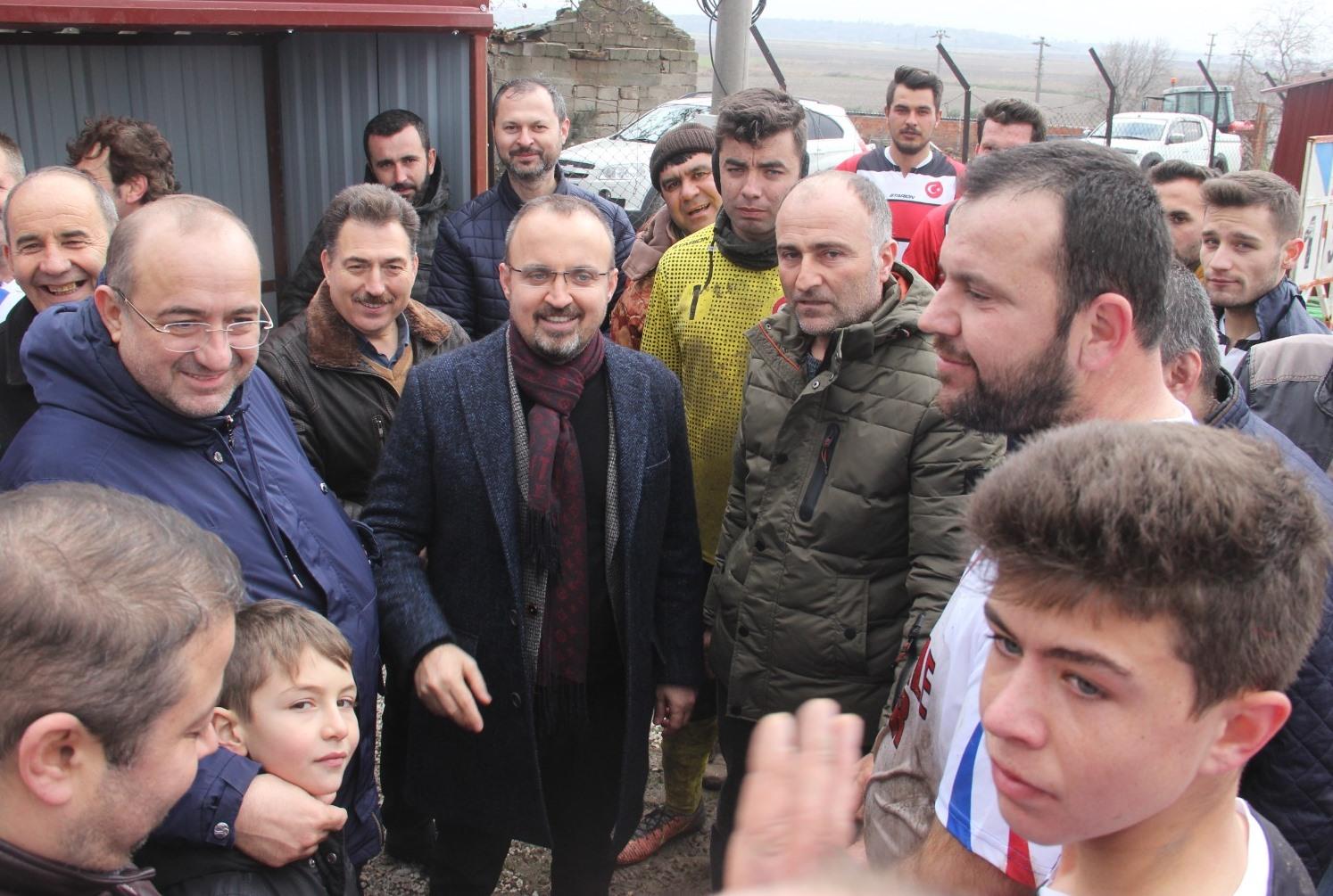 Turan'dan Kumkale'ye müjde