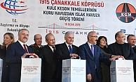 Yıldırım'dan Çanakkale'ye müjde, Köprü 18 Mart 2022'de açılacak