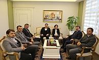 AK Parti'den Vali Tavlı'ya ziyaret