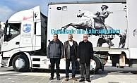 """Başkan Gökhan; """"Gezici Tır yola çıktı, hedef 82 milyon"""""""