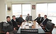 Güler'den Başkan Mutan'a ziyaret