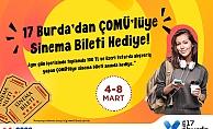 Esas 17 Burda'dan ÇOMÜ'lüye sinema bileti