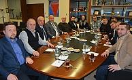 MÜSİAD Yönetimi'nden ÇTSO'ya ziyaret