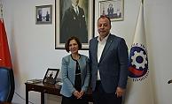 Tülay Ömercioğlu'ndan ÇTSO'ya ziyaret