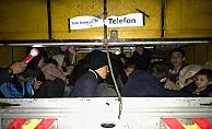 Ayvacık'ta 47 kaçak göçmen yakalandı