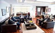 Başkan Gökhan'a tebrik ziyaretleri
