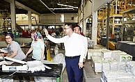 Erdoğan'dan YTS firmasına ziyaret
