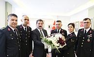 Jandarma Teşkilatından Valiliğe ziyaret