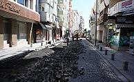 Kayserili Ahmet Paşa Caddesi'nde hummalı çalışma