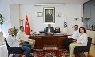 CHP'li Vekillerden ÇTSO'ya ziyaret