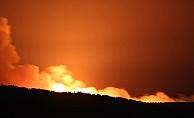 Tarihi alanda yangın! (VİDEO)