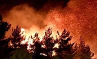 Yangın hızla büyüyor! (Video)