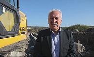 Başkan Yılmaz çalışmaları yerinde inceledi (VİDEO)