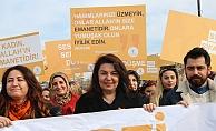 """İskenderoğlu; """"Kadınlarımıza uygulanan her türlü şiddet ve ayrımcılığın karşısındayız"""""""
