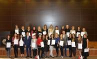 Kadın girişimciler sertifikalarına kavuştu