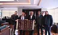 Başkan Bayram'dan Ülgür Gökhan'a ziyaret