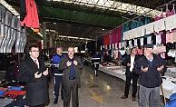 Başkan Bülent Öz, haftaya pazar esnafını ziyaret ederek başladı