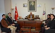 Başkan Makas'tan ÇTSO'ya ziyaret