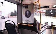 """""""Çanakkale'nin Evlatları"""" Halk otobüslerinde"""