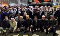 Çan'lı vatandaşlar Umre'ye uğurlandı