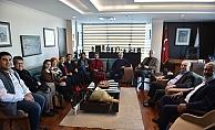 Güç Birliği Platformundan Başkan Gökhan'a Ziyaret