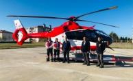 Helikopter ambulans hizmette…