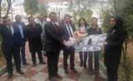 Vali Tavlı'dan Yenice Belediyesi'ne ziyaret