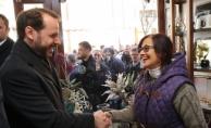 Bakan Albayrak'tan Çarşı esnafına ziyaret (VİDEO)