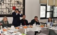 Başkan Öz, Gazetecilerle buluştu