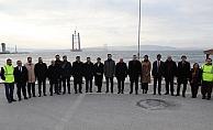 Cevdet Yılmaz, 1915 Çanakkale Köprüsü'nü İnceledi