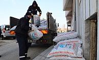 Gelibolu Belediyesi'nden 86 tonluk yardım