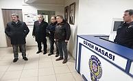 Vali Tavlı'dan, Yılbaşında Anafartalar Polis Merkezi Amirliğine ziyaret