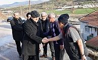Başkan Öz'den vatandaşlara ziyaret