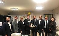 ÇTSO yönetim kurulundan bir dizi ziyaret