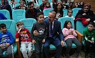 Turan, öğrencilerin yarıyıl tatilini kutladı (VİDEO)
