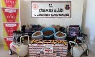 Biga'da tütün operasyonu !