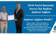 DEVA Partisi Bozcaada Kurucu İlçe Başkanı belli oldu