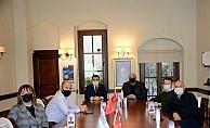 Alan Başkanı İsmail Kaşdemir, ÇASİAD'ı ziyaret etti