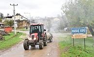 Çan Belediyesi köyleri de dezenfekte ediyor