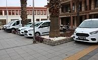 Bayramiç Belediyesi'ne yeni araçlar
