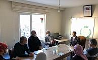 Vali Aktaş'tan Sivil Toplum Kuruluşlarına Ziyaret