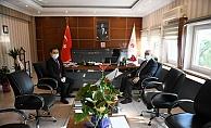 Başkan Ülgür Gökhan'dan ziyaret