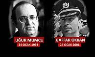 Belediye Başkanı Ülgür Gökhan'ın Gaffar Okkan ve Uğur Mumcu'yu anma mesajı