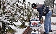 Çan Belediyesi de karda can dostlarının yanında