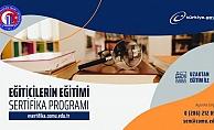 """ÇOMÜ """"Eğiticilerin Eğitimi Sertifika Programı"""" başladı"""