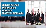 Gençlik Ve Spor Bakanlığı İle Şehrimizin Gençlik Ve Spor Yatırımlarını Kapsayan Protokol İmzalandı